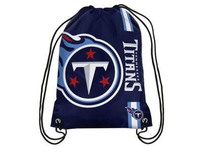 Tennessee Titans Big Logo Drawstring Backpack