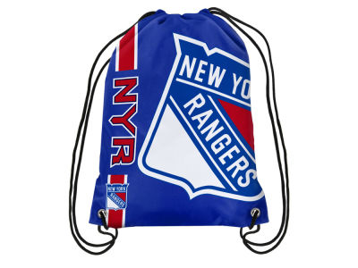 New York Rangers Big Logo Drawstring Backpack