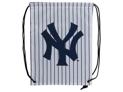 New York Yankees SMU Stripe Drawstring Backpack