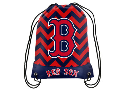 Boston Red Sox Women's Chevron Drawstring Backpack