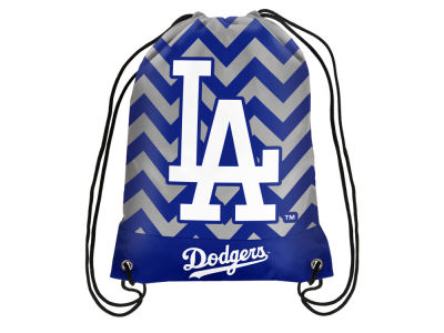 Los Angeles Dodgers Women's Chevron Drawstring Backpack