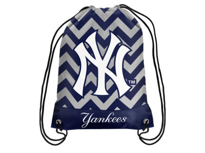 New York Yankees Women's Chevron Drawstring Backpack