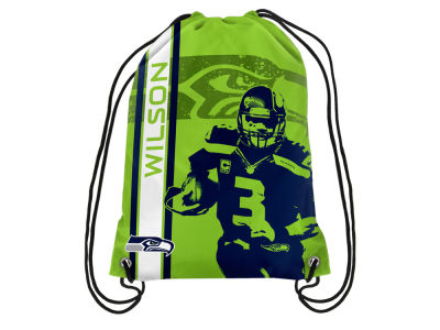 Seattle Seahawks Russel Wilson Player Elite Drawstring Backpack