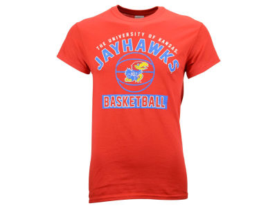 Kansas Jayhawks 2F NCAA Men's Drafted Basketball T-shirt