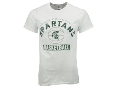 Michigan State Spartans NCAA 2 for $28 NCAA Men's Drafted Basketball T-Shirt
