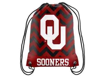 Oklahoma Sooners Women's Chevron Drawstring Backpack