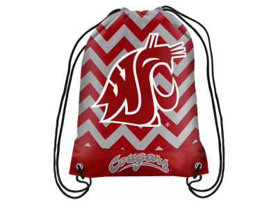 Washington State Cougars Women's Chevron Drawstring Backpack