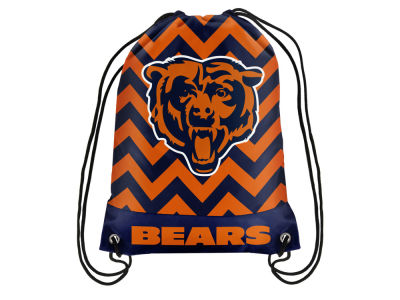 Chicago Bears Women's Chevron Drawstring Backpack