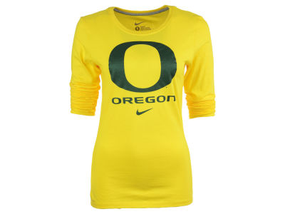 Oregon Ducks Nike NCAA Women's Logo Long Sleeve T-Shirt