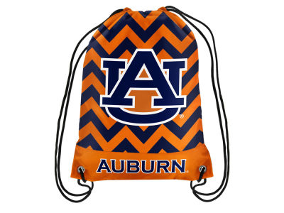 Auburn Tigers Women's Chevron Drawstring Backpack