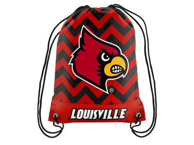 Louisville Cardinals Women's Chevron Drawstring Backpack