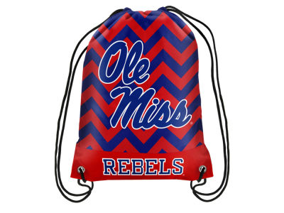 Ole Miss Rebels Women's Chevron Drawstring Backpack