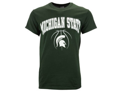 Michigan State Spartans NCAA Men's Seamless Basketball T-Shirt