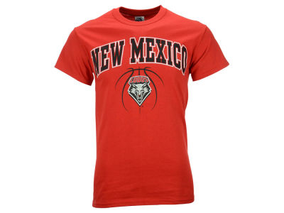 New Mexico Lobos NCAA Men's Seamless Basketball T-Shirt