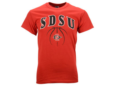 San Diego State Aztecs NCAA 2 for $28 NCAA Men's Seamless Basketball T-Shirt