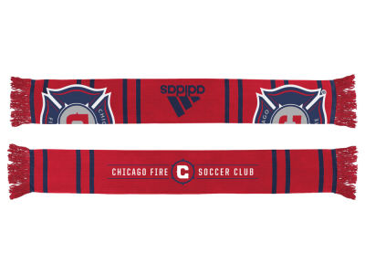 Chicago Fire Team Wordmark Scarf