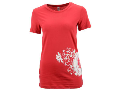 Tony Kanaan Ganassi Racing Women's Wing Floral V-Neck T-Shirt