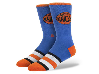 New York Knicks Stance Mid Team Color Stripe Socks