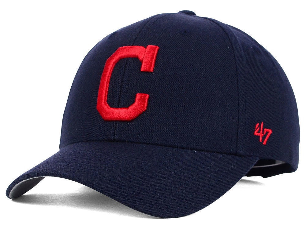 fed96448c32 Cleveland Indians  47 MLB On Field Replica  47 MVP Cap
