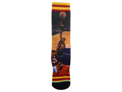 Miami Heat Alonzo Mourning Stance Legend Player Sock