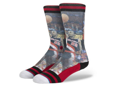 Portland Trail Blazers Clyde Drexler Stance Legend Player Sock