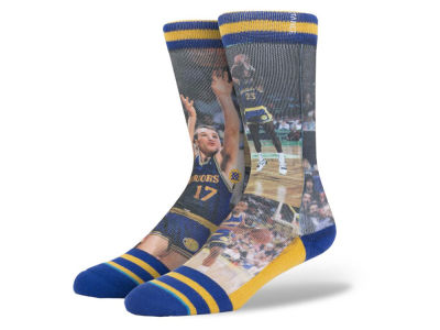 Golden State Warriors Run TMC Stance Legend Player Sock