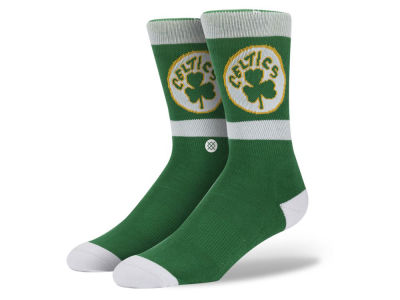 Boston Celtics Stance Mid Team Color Stripe Socks