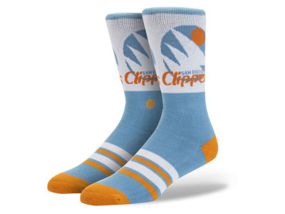 Los Angeles Clippers Stance Mid Team Color Stripe Socks