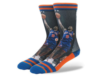 New York Knicks Latrell Sprewell Stance Legend Player Sock