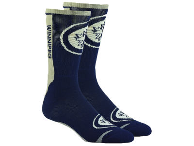 Winnipeg Jets For Bare Feet Jump Key II Socks