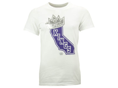 Sacramento Kings adidas NBA Men's State Crown T-Shirt
