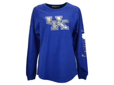 Kentucky Wildcats NCAA Women's Sweeper Long Sleeve Bling Shirt