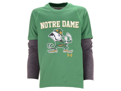 Notre Dame Fighting Irish Under Armour NCAA Youth Tech Long Sleeve T-Shirt
