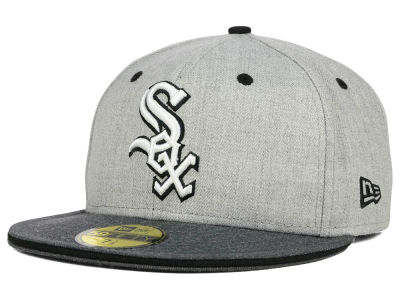Chicago White Sox New Era MLB Heather Shadow 59FIFTY Cap