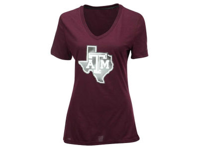 Texas A&M Aggies adidas NCAA Women's Sunlight Camo Logo T-Shirt