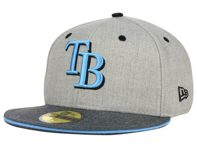 Tampa Bay Rays New Era MLB Heather Shadow 59FIFTY Cap