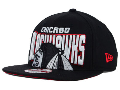 Chicago Blackhawks New Era NHL Bold Statement 9FIFTY Cap