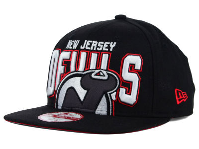 New Jersey Devils New Era NHL Bold Statement 9FIFTY Cap