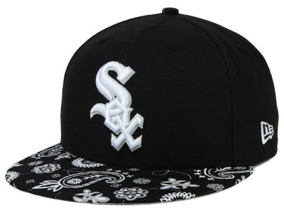 Chicago White Sox New Era MLB Paisley Time 59FIFTY Cap