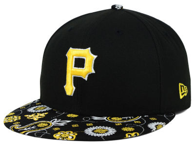 Pittsburgh Pirates New Era MLB Paisley Time 59FIFTY Cap