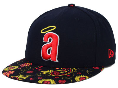 Los Angeles Angels New Era MLB Paisley Time 59FIFTY Cap