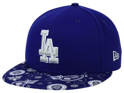 Los Angeles Dodgers New Era MLB Paisley Time 59FIFTY Cap