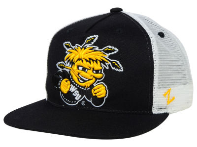 Wichita State Shockers Zephyr NCAA IMAX Trucker Snapback Hat