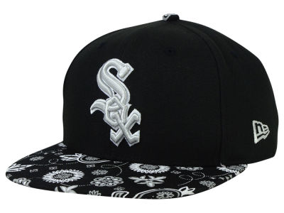 Chicago White Sox New Era MLB Paisley Time 9FIFTY Snapback Cap