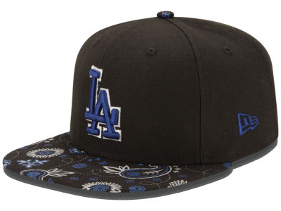 Los Angeles Dodgers New Era MLB Paisley Time 9FIFTY Snapback Cap