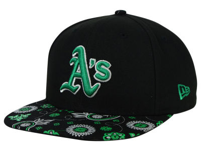 Oakland Athletics New Era MLB Paisley Time 9FIFTY Snapback Cap