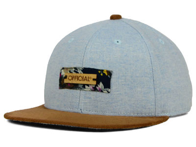 Official Linen Bamboo Strapback Hat