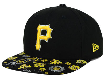 Pittsburgh Pirates New Era MLB Paisley Time 9FIFTY Snapback Cap