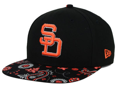 San Diego Padres New Era MLB Paisley Time 9FIFTY Snapback Cap