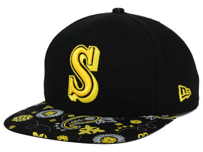 Seattle Mariners New Era MLB Paisley Time 9FIFTY Snapback Cap